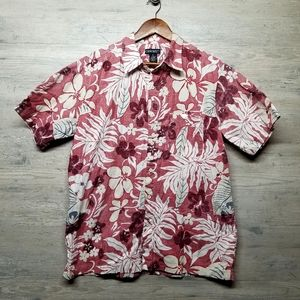 Cherokee Hawaiian Button Down Shirt. Brand New!